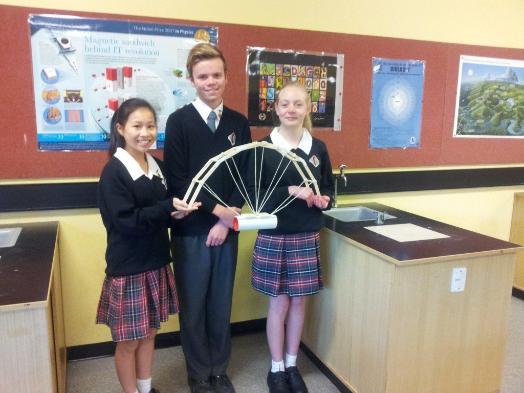 Year 9 Aurecon Bridge Competition